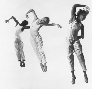 Bebe Miller and Dance Company in 1989