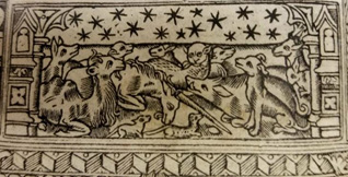Engraving from Book of Hours