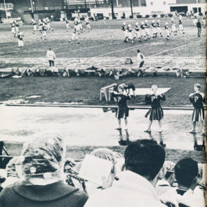 Football rally in 1963 Viking.