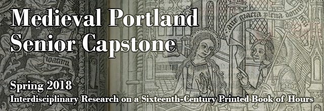 Link to the Medieval Portland Senior Capstone Collection