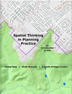 Cover of textbook Spatial Thinking in Planning Practice