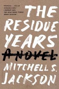 RESIDUE PAPERBACK COVER