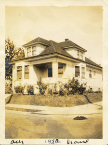 Rutherford Family Home circa 1922