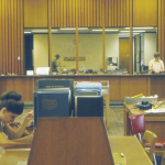 Vintage Circ Desk