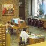 Vintage Library Interior