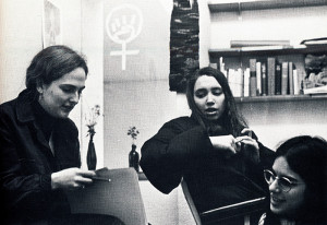Students meeting in the Women's Union in Smith Center, 1972.