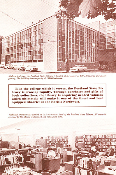 1960 Library Brochure back