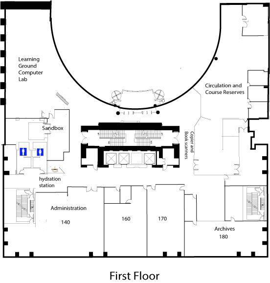 1st floormap