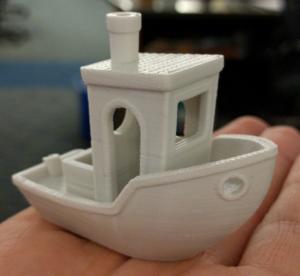 3D-printed boat