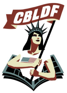 Comics Book Legal Defense Fund logo