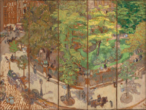 Place Vintimille by Edouard Vuillard, 1911. From the National Gallery of Art.