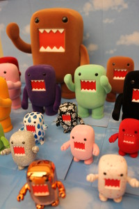 Domo figurines from Dark Horse Comics
