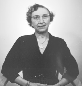 Dr. Jean P. Black in 1953.