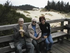 Ken & Elsie Butler with daugther