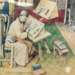Scribe Jean Mielot, Brussels, circa 1450.