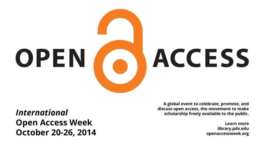 Open Access Week logo licensed CC BY.