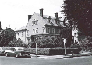 SW Park and Hall Streets in 1965