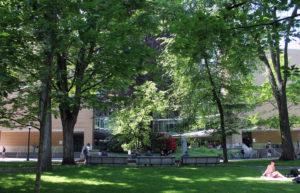 PSU Library exterior