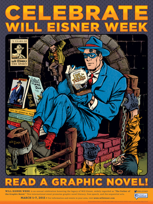 Will Eisner Week Poster