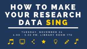 information for research data workshop