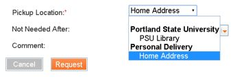 P S U Library Home Delivery Option