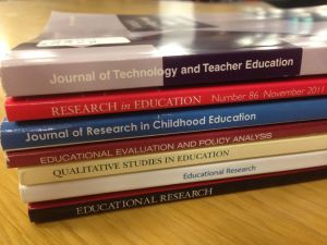 photo of education research journals