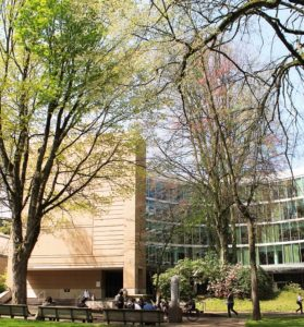 PSU Millar Library Exterior
